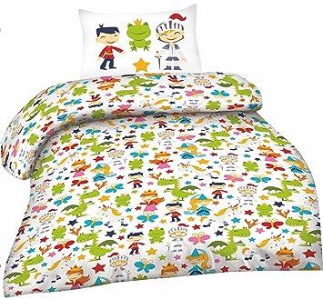 Biber Kinder Bettwäsche Größe 100x135 Cm 40x60 Cm 100 Baumwolle