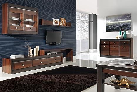 Mobili Scuri Colore Pareti : Forrest4 mobili da salotto in noce scuro e milano effetto legno di