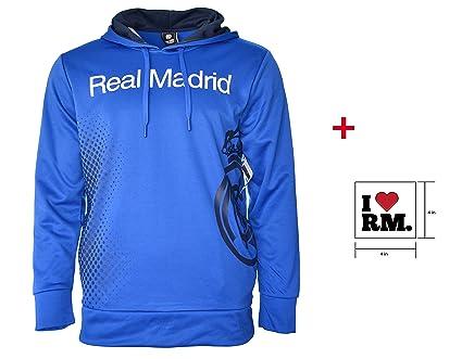 Real Madrid sudadera con capucha chaqueta de forro polar ...