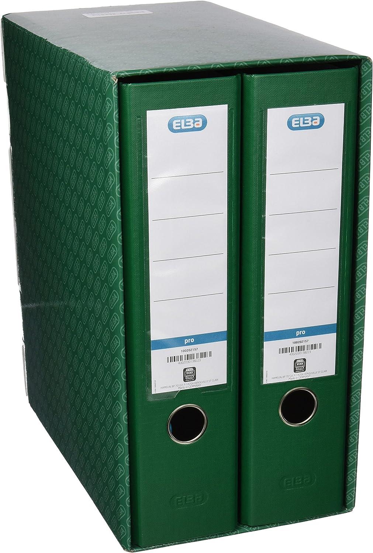 color verde Elba Rado Top M/ódulo 2 archivadores anchos