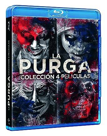 Pack: La Purga - 1-4 [Blu-ray]: Amazon.es: YLan Noel, Lex Scott ...