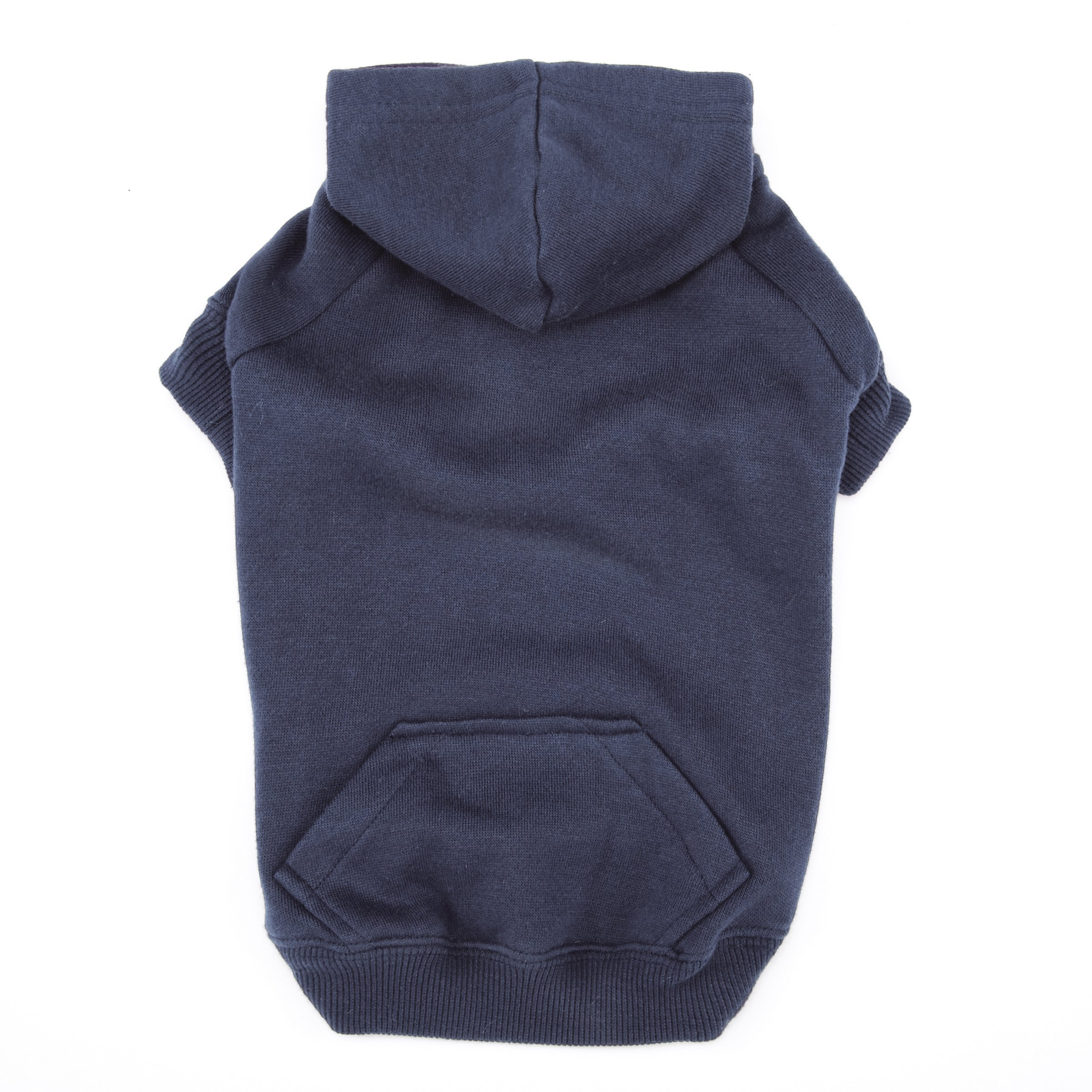 Casual Canine Basic Hoodie for Dogs, 16'' Medium, Navy