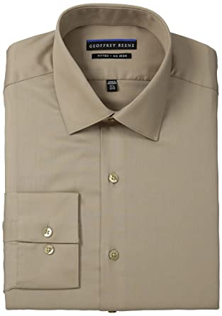 0aac347929e Geoffrey Beene Men s Slim Fit Non-Iron Sateen Dress Shirt