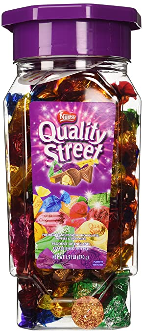 Amazon Com Nestle Quality Street Premium Chocolates Toffees And