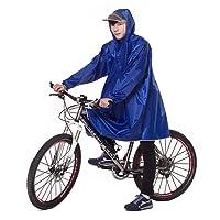 Ommda Bike Fahrrad Regenjacken Regenponcho Wasserdicht Regenmantel für Die Jagd Camping Freizeit Regenmäntel Regencape