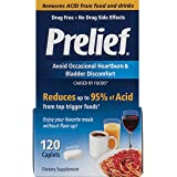 Prelief Acid Reducer Caplets 120 Count Dietary Supplement to reduce up to 95% of the acid in High-Acid Food and Beverages