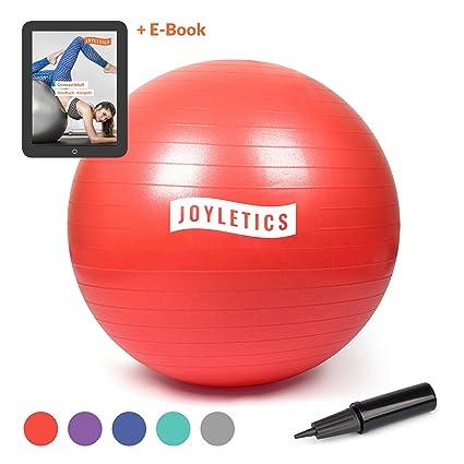 Joyletics® Bola de Ejercicios »L« diámetro 85 cm, Rojo| Pelota ...