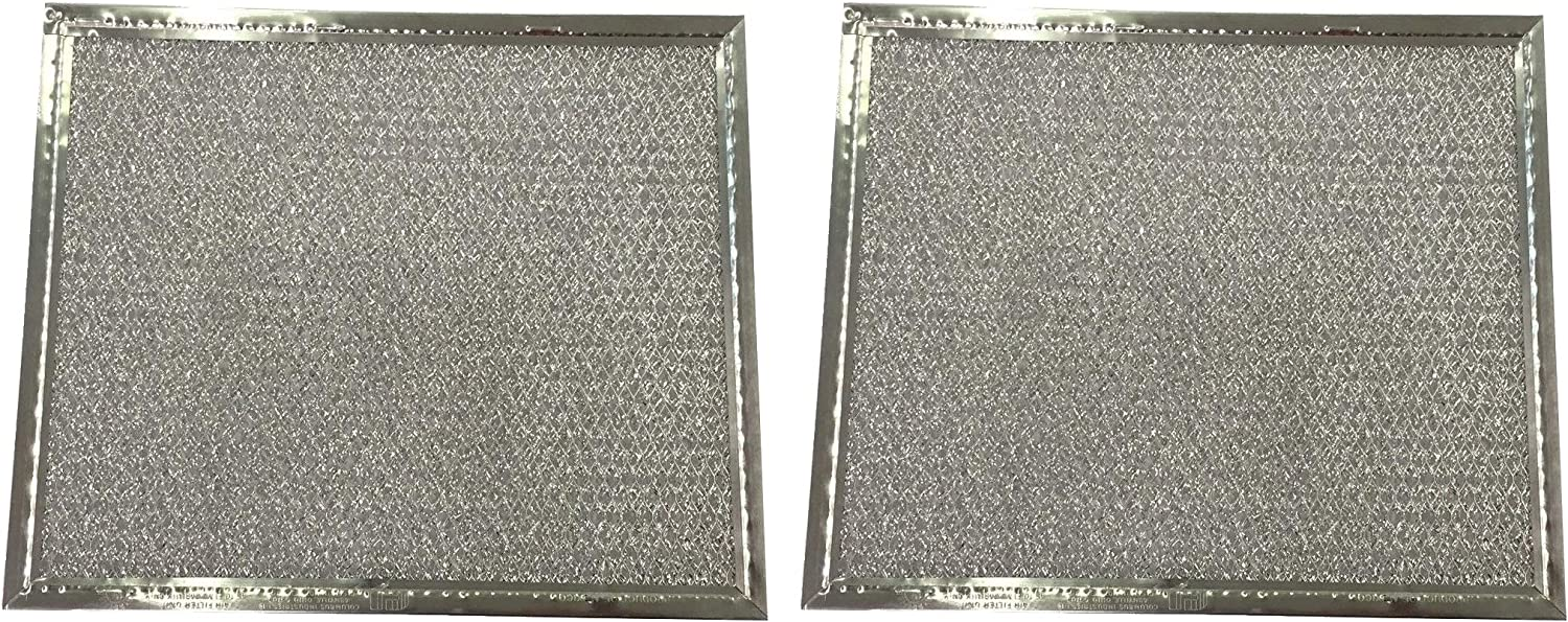 Amazon Com Hasmx 2 Pack Layered Aluminum Mesh Frame Range Hood Air Grease Filter For Columbus Industries Standard Part Pt10 H838 107 8 X 9 1 2 1 8 Home Improvement