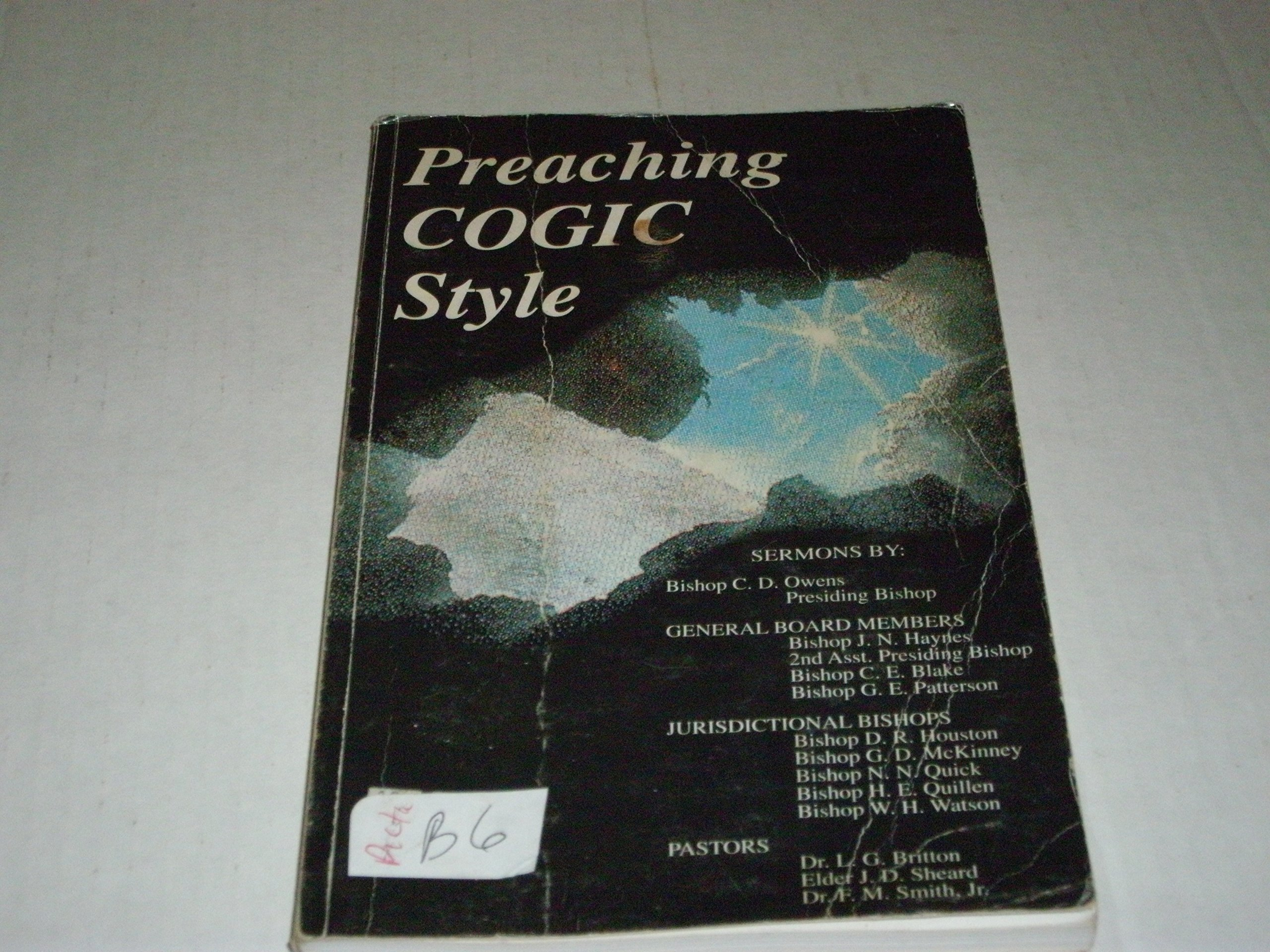 Preaching COGIC Style: Various: Amazon com: Books