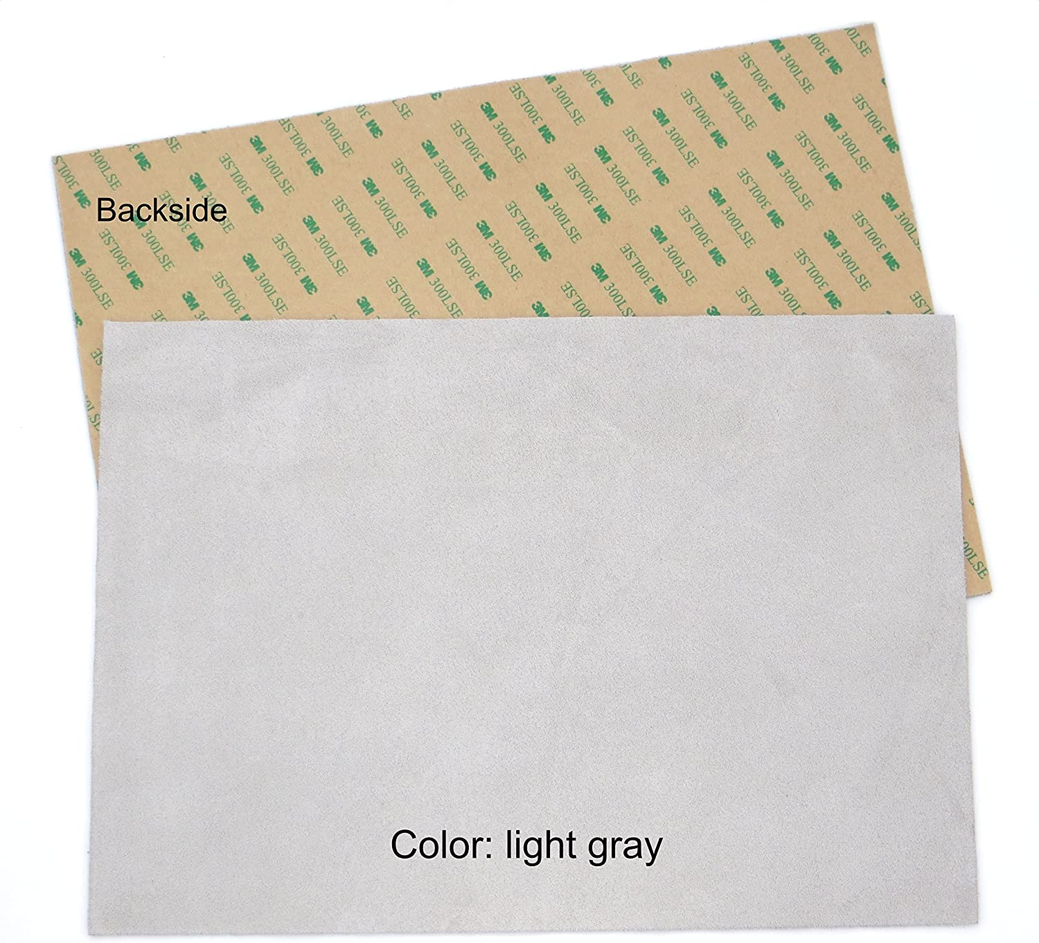 "Suede sheets 8.5/""x12/"" with super-strong self-adhesive backing many colors"