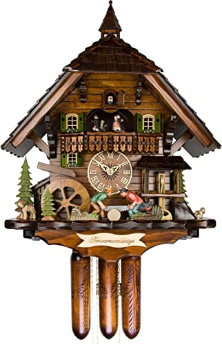 Adolf Herr Cuckoo Clock – The Black Forest Saw Mill