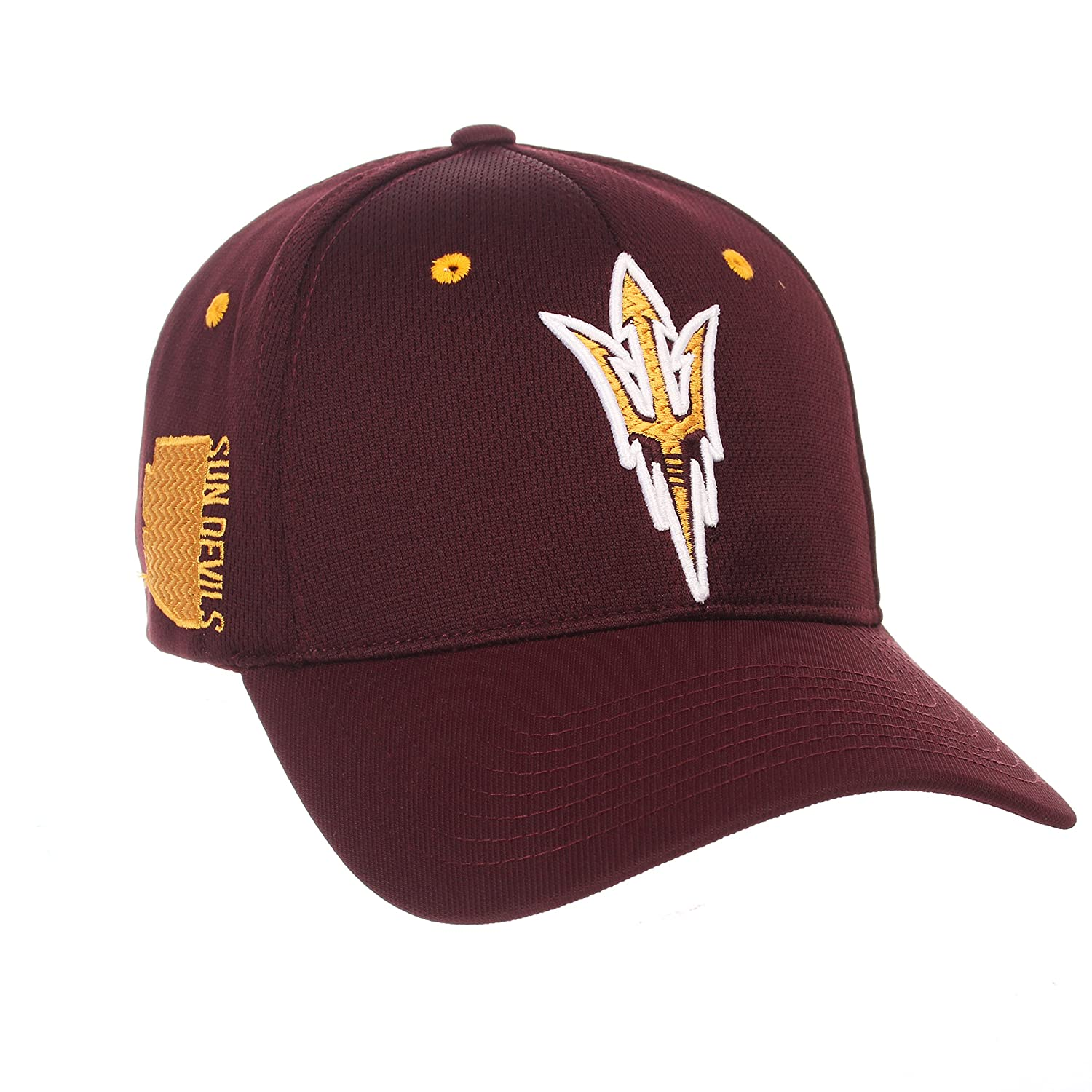 Medium//Large Team Color Zephyr Adult Men Rambler NCAA Hat