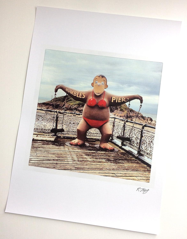 Art Print of Vintage Art No Monkeying