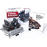 Porsche 911 Flat-Six Boxer Engine Model Kit (Kit With Collector's Manual)