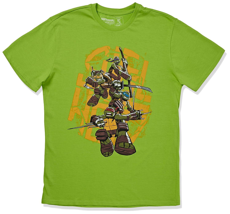 Teenage Mutant Ninja Turtles - Shellheads Green T-Shirt ...