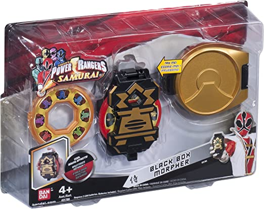 Power Rangers Bandai 31781 Samurai - Black Box Morpher: Amazon.es: Juguetes y juegos