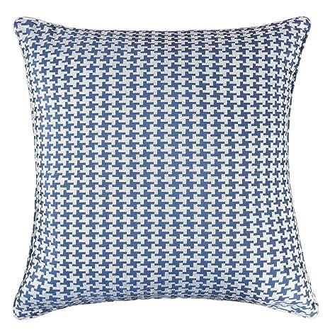 Amazon.com: Homey acogedor Jacquard manta funda de almohada ...