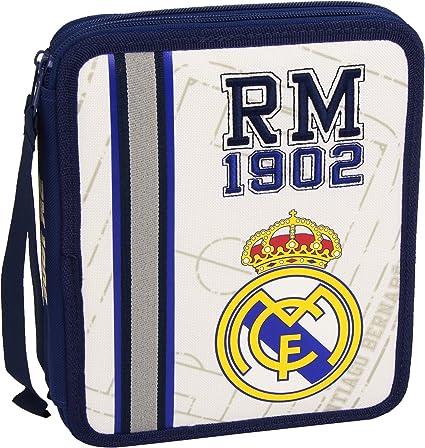 Plumier EP-252-M - Estuche con 2 pisos Real Madrid: Amazon.es: Oficina y papelería