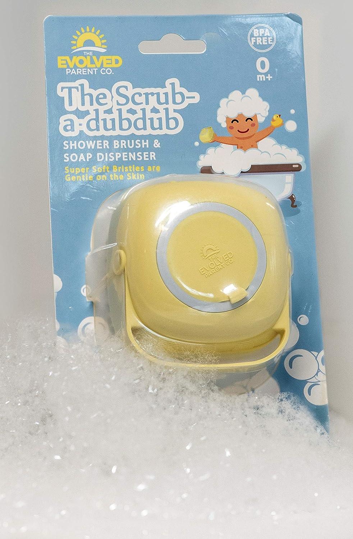 Amazon.com: The Scrub-a-DubDub Baby Bath Scrubber - Ultra-Soft ...