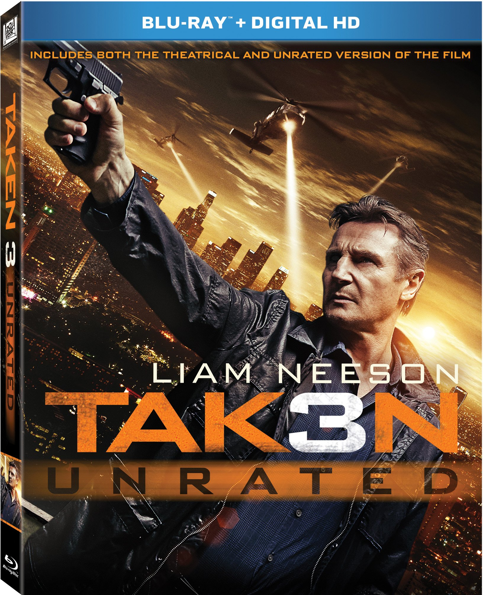 Blu-ray : Taken 3 (Widescreen, Dolby, Digital Theater System, Digitally Mastered in HD, )