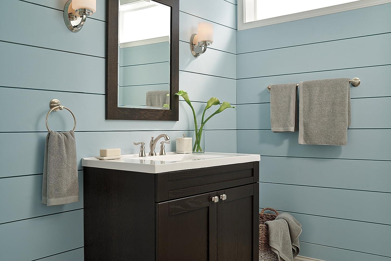 Delta 3594 mpu dst 8 inch linden 2 handle high arc bathroom faucet in - Delta Faucet 3594 Ssmpu Dst Linden Two Handle Widespread Bathroom Faucet Stainless Touch On Bathroom Sink Faucets Amazon Com