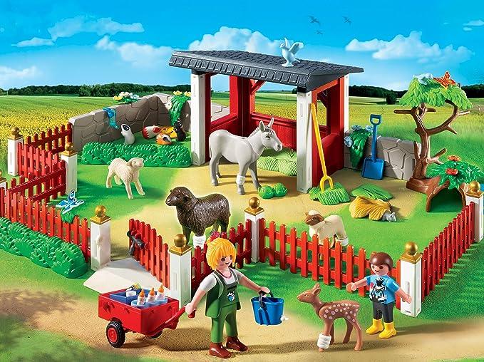 Playmobil Veterinaria - Estación de cuidados al aire libre, playset (5531): Amazon.es: Juguetes y juegos