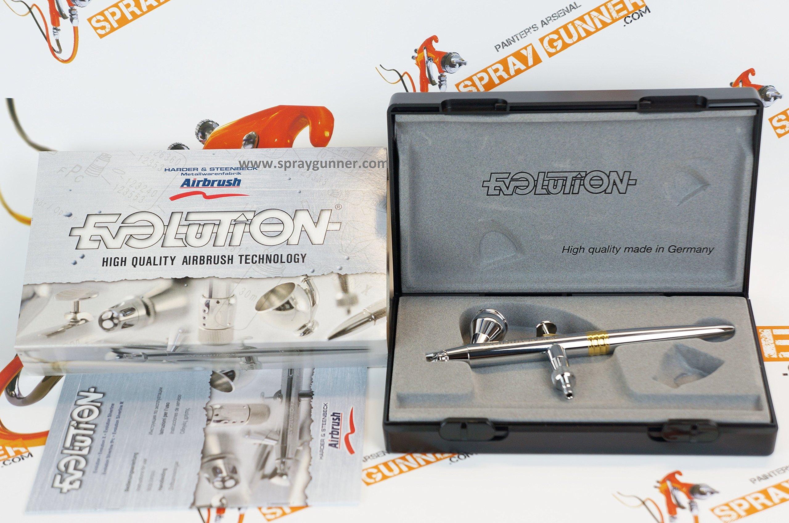 Harder & Steenbeck Evolution CR Plus 0.2mm airbrush 126214 by SprayGunner