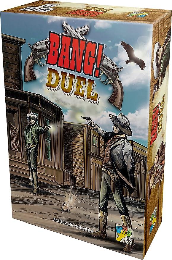Asmodee – ban10fr – Bang Duel: Amazon.es: Juguetes y juegos