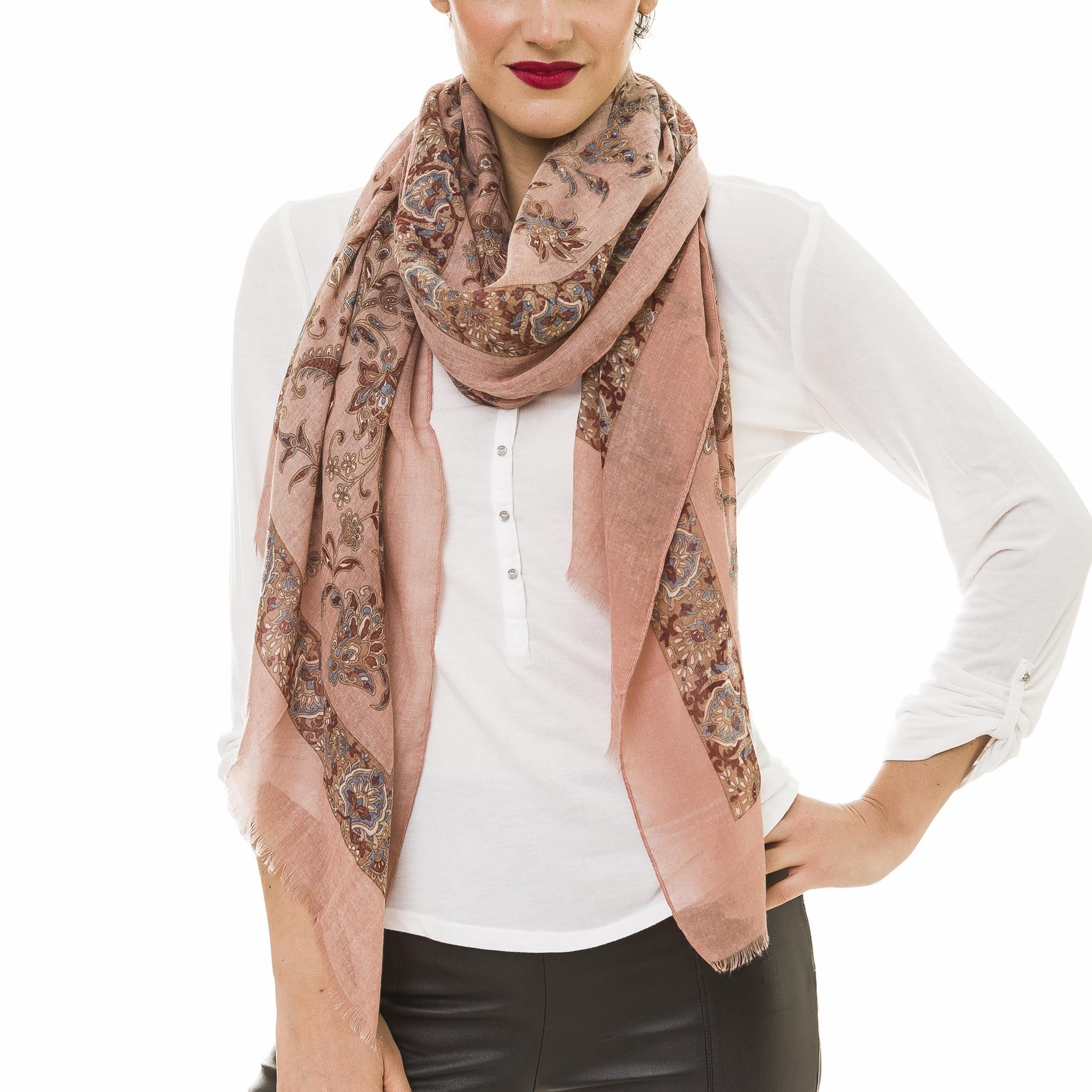 Scarf for Women Lightweight Fashion Summer Fall Scarves Shawl Wraps by Melifluos (NF52-3)