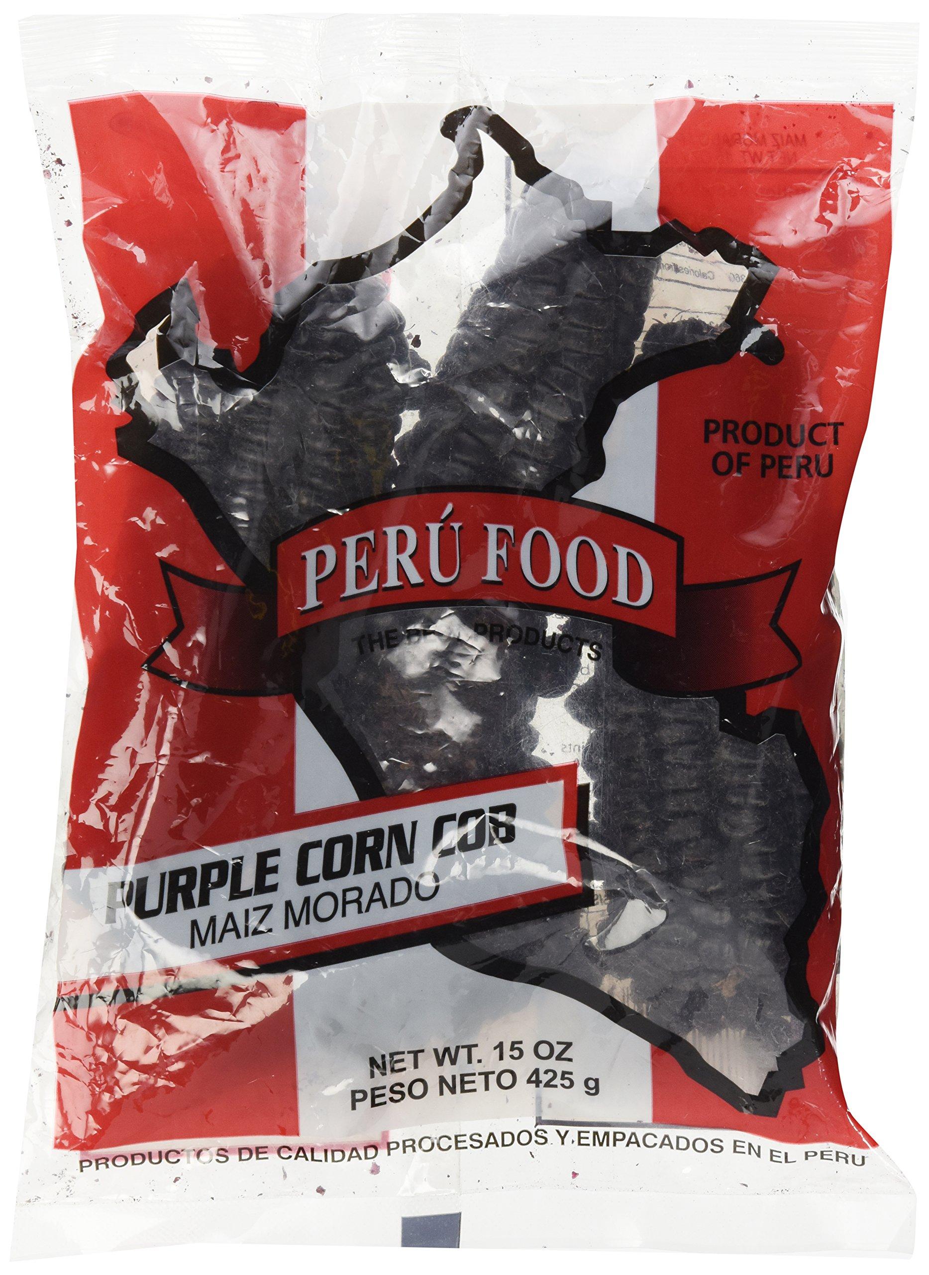 Peru Food Maiz Morado Purple Corn Cob 15 Oz. by Peru Food
