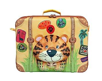 okiedog wildpack 80007 maleta para niños con motivo 3D TIGRE, naranja: Okiedog - Wildpack Tiger Suitable: Amazon.es: Juguetes y juegos