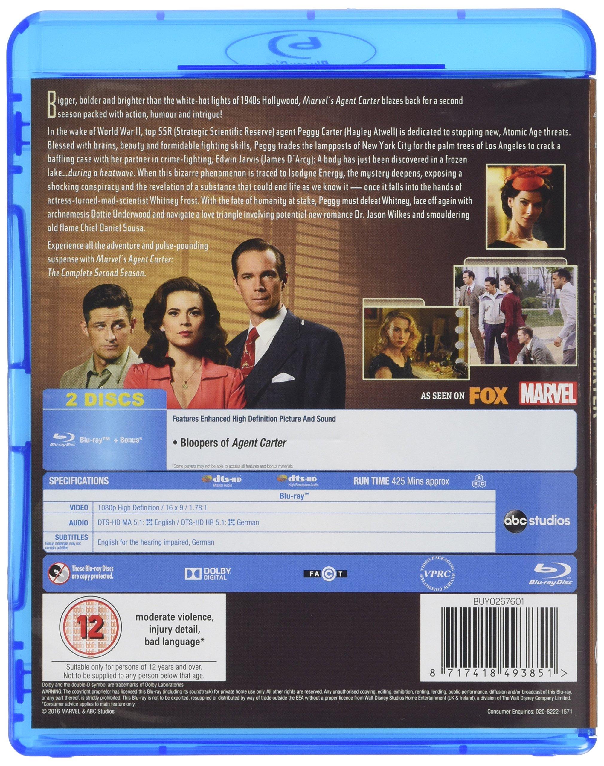 Marvel's Agent Carter - Season 2 by Walt Disney Studios Home Entertainment