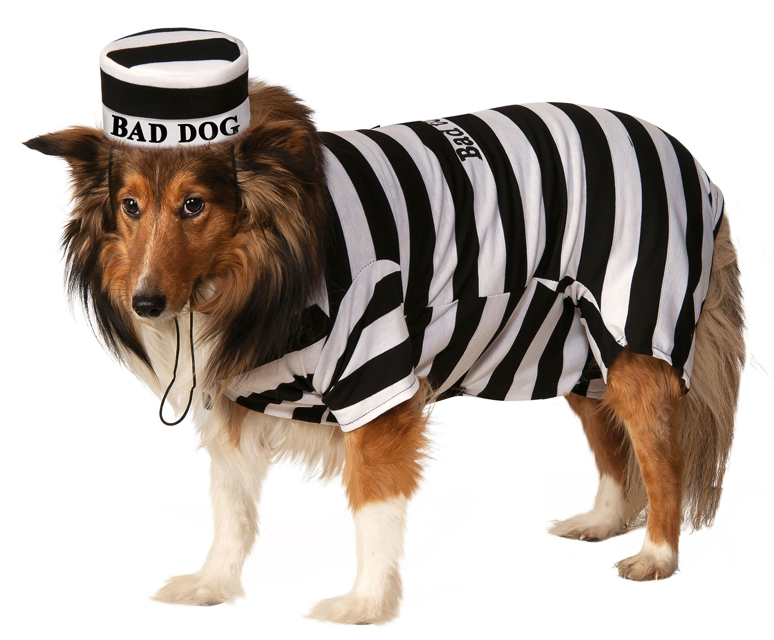 Rubie's Pet Costume, Medium, Prisoner