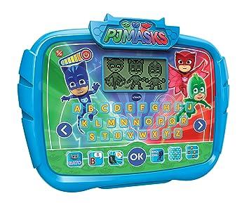 VTech Alfabeto Juegos, aprende Las Letras abecedario Interactivo PJ Masks con Actividades para Aprender (