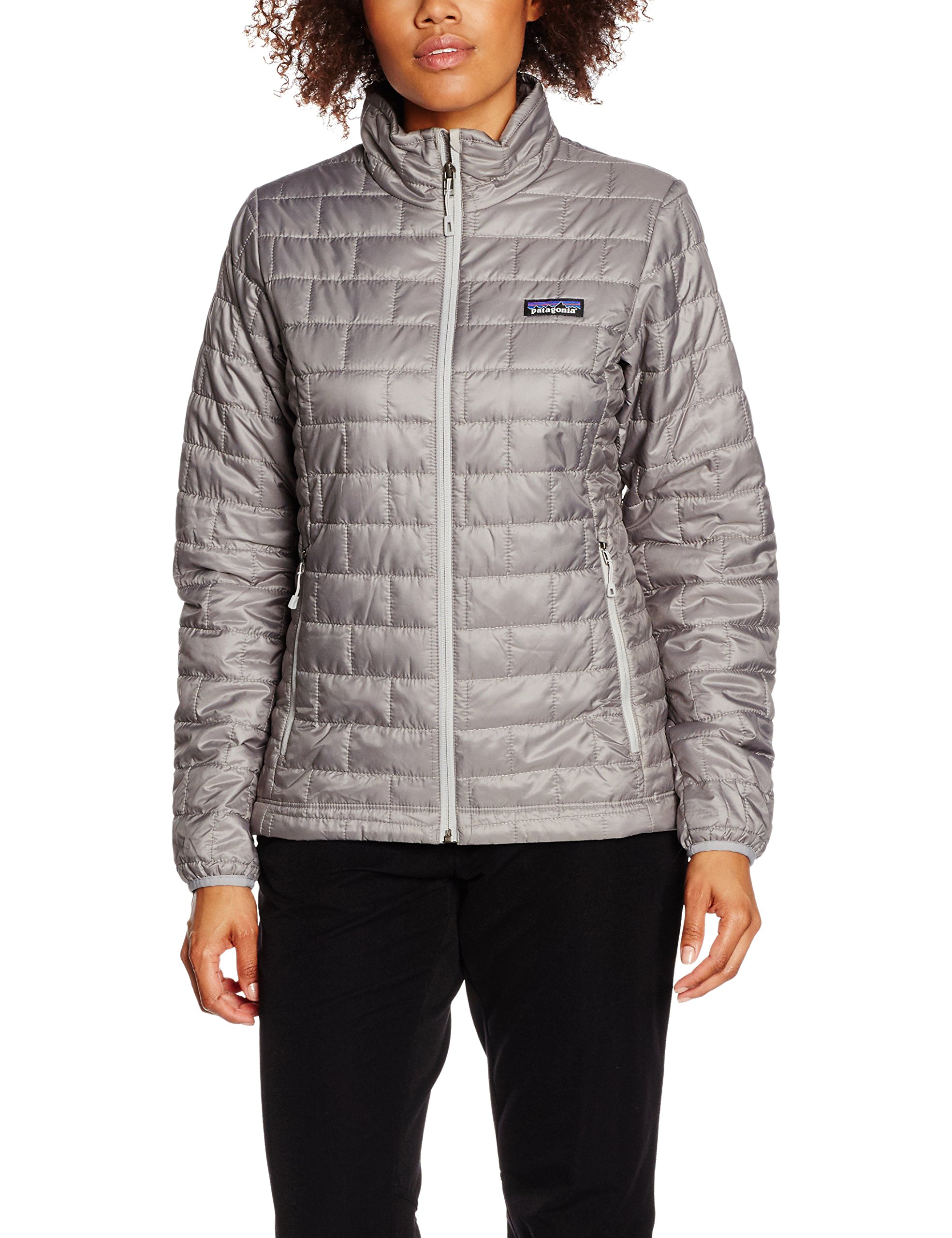 Patagonia Womens Nano Puff JKT, Feather Grey, L