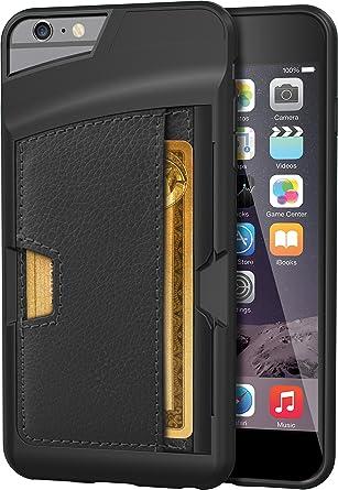 Amazon.com: Funda tipo cartera para iPhone 6/6S de seda ...