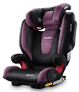 RECARO Monza Nova 2 Group 2/3 Highback Booster Car Seat (Violet ...