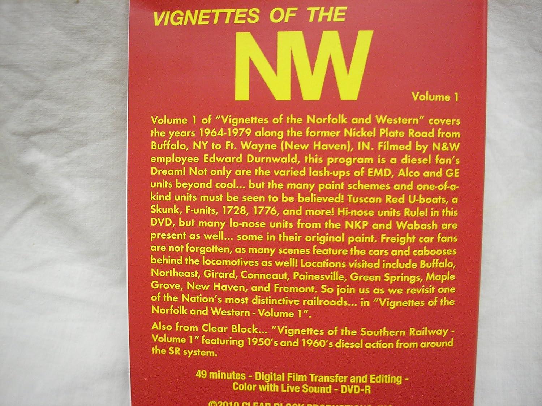 Amazon.com: Vignettes Of The Norfolk & Western Volume 1 ...