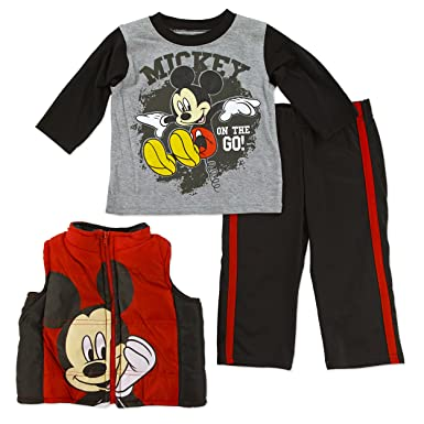 ff8ef9c53 Amazon.com  Disney Mickey Mouse Infant Toddler Boy s Vest