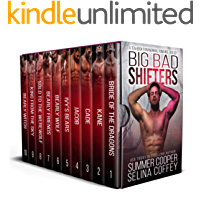 Big Bad Shifters: A Ten-Book Paranormal Romance Box Set