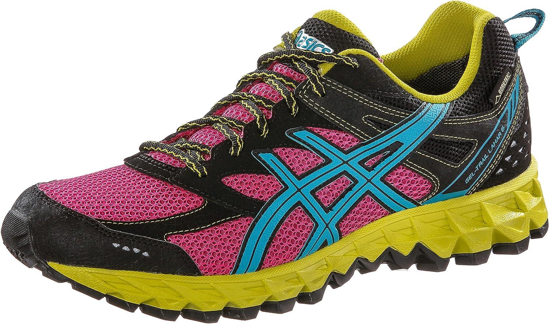 ASICS de Gel Trail Lahar 6 g de TX, Mujer Outdoor Fitness Guantes, Mujer, Rosa/Azul, 39.5 EU: Amazon.es: Deportes y aire libre
