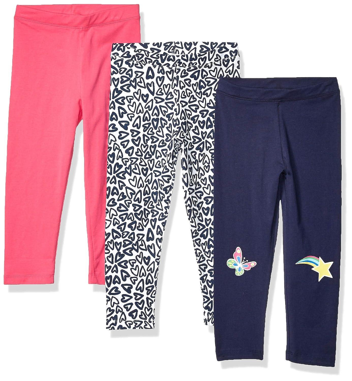 Spotted Zebra Girls Toddler /& Kids 3-Pack Leggings Brand
