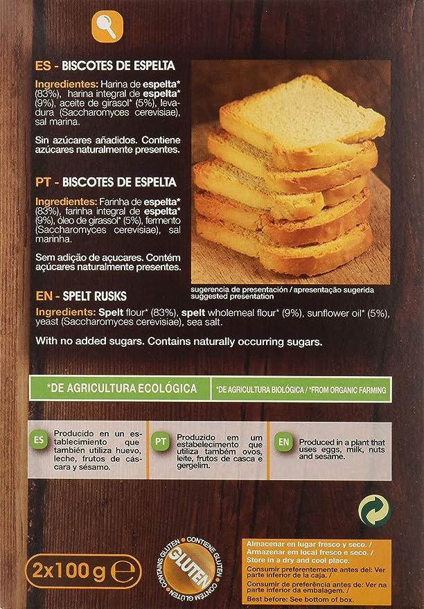 La Finestra Sul Cielo Tradicionales y Crujientes Biscotes Elaborados - Paquete de 6 x 200 gr - Total: 1200 gr: Amazon.es: Alimentación y bebidas