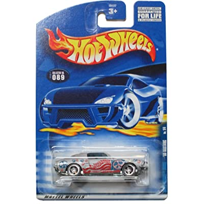 Hot Wheels 68 Mustang Hippie Mobile #089 (2001) 1:64 Scale: Toys & Games