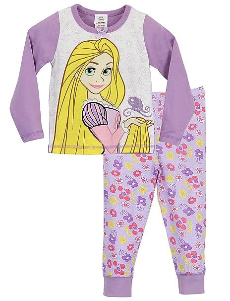 Disney Rapunzel - Pijama para niñas - Rapunzel - 18 a 24 Meses