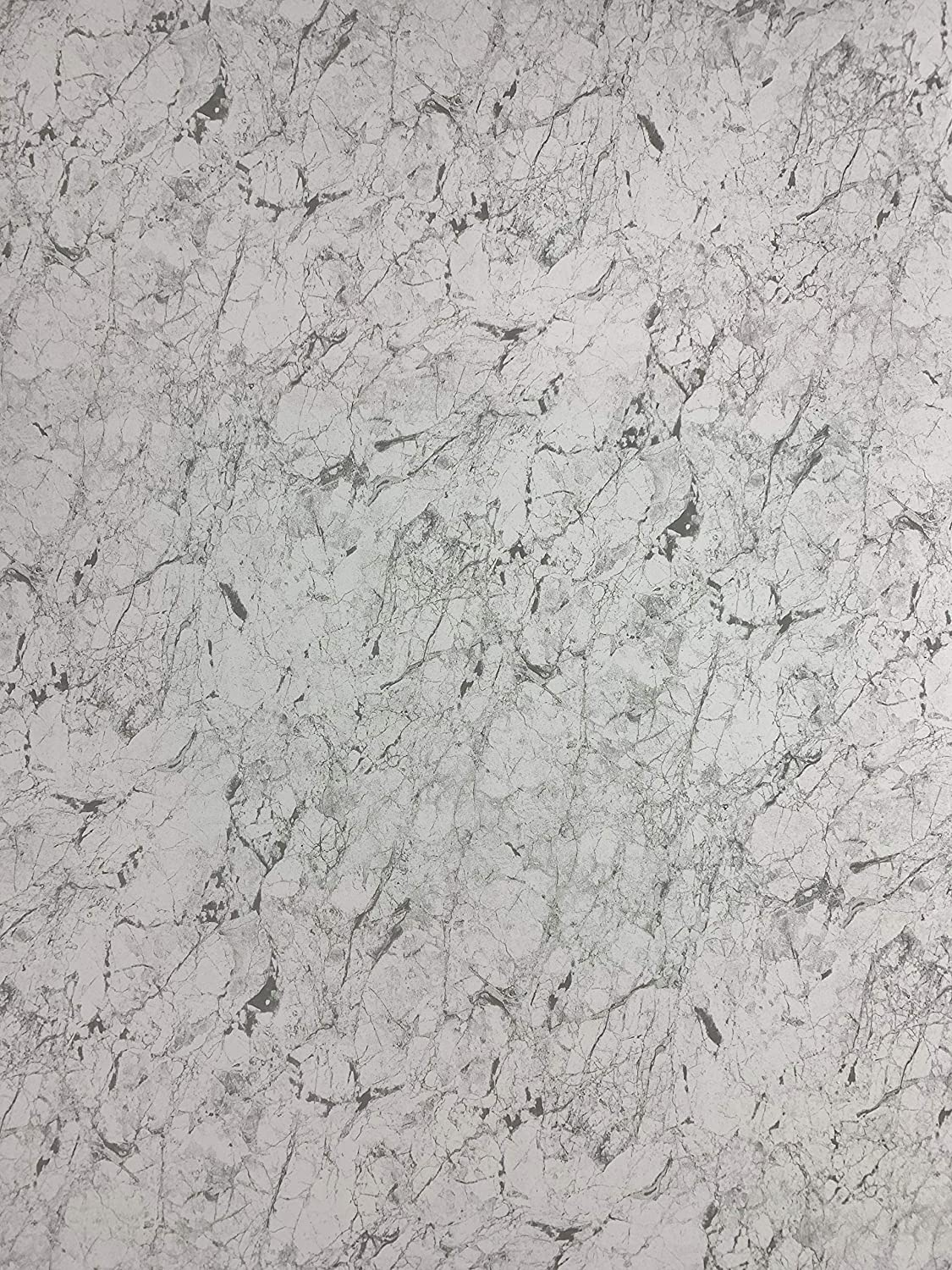 DBS White Marble 1000mm Wide Shower Panel 1m x 2.4m PVC Shower Wall Panels