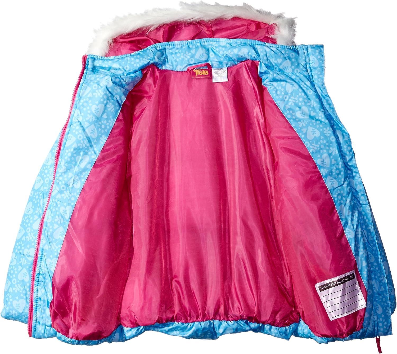 DreamWorks Trolls Big Girls Puffer Jacket 6