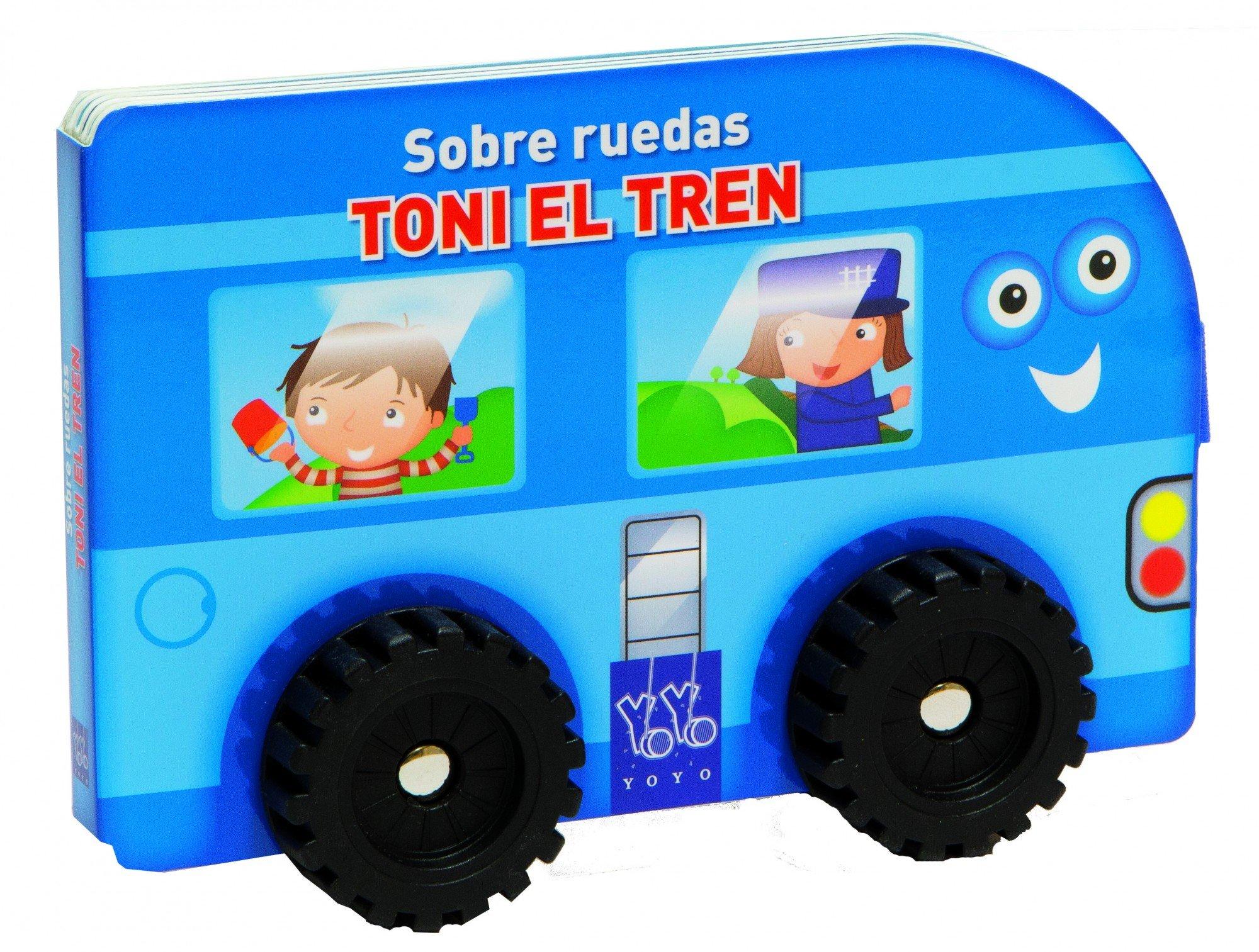 Toni el tren (Spanish) Board book