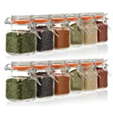 24-Count 3.4 oz Spice Jars with Lids Value