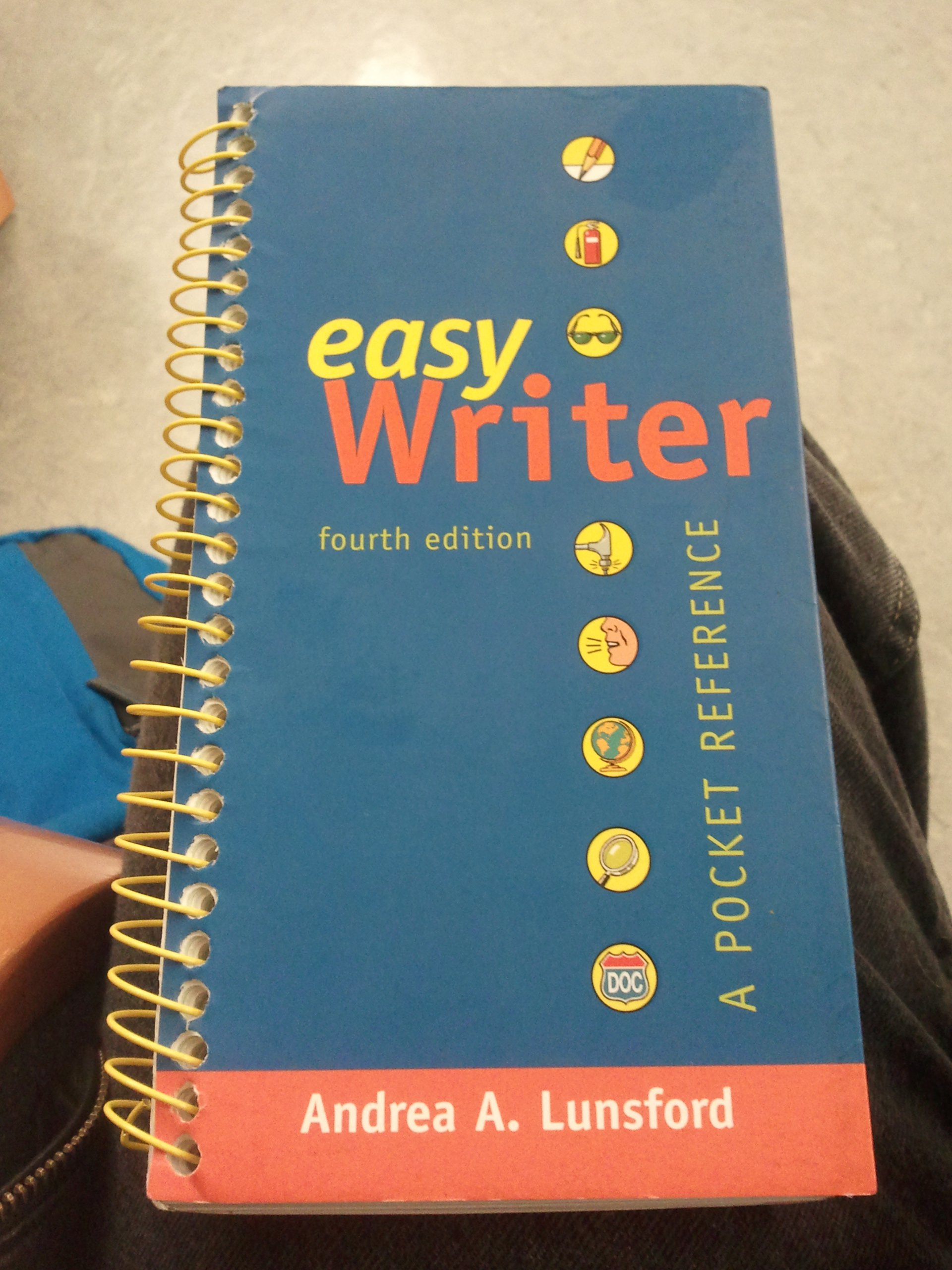 Easy Writer: A Pocket Reference, 4th Edition: Andrea A. Lunsford:  Amazon.com: Books